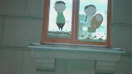 Наклейки на окна и баннеры