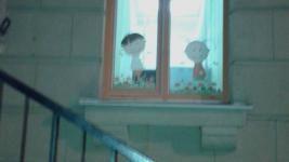 Наклейки на окна