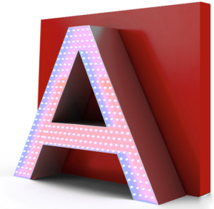 letter-lighting-diode