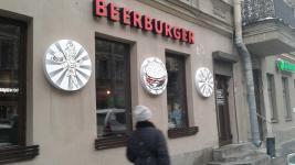 Изготовление вывесок для наружной рекламы в Санкт-Петербурге