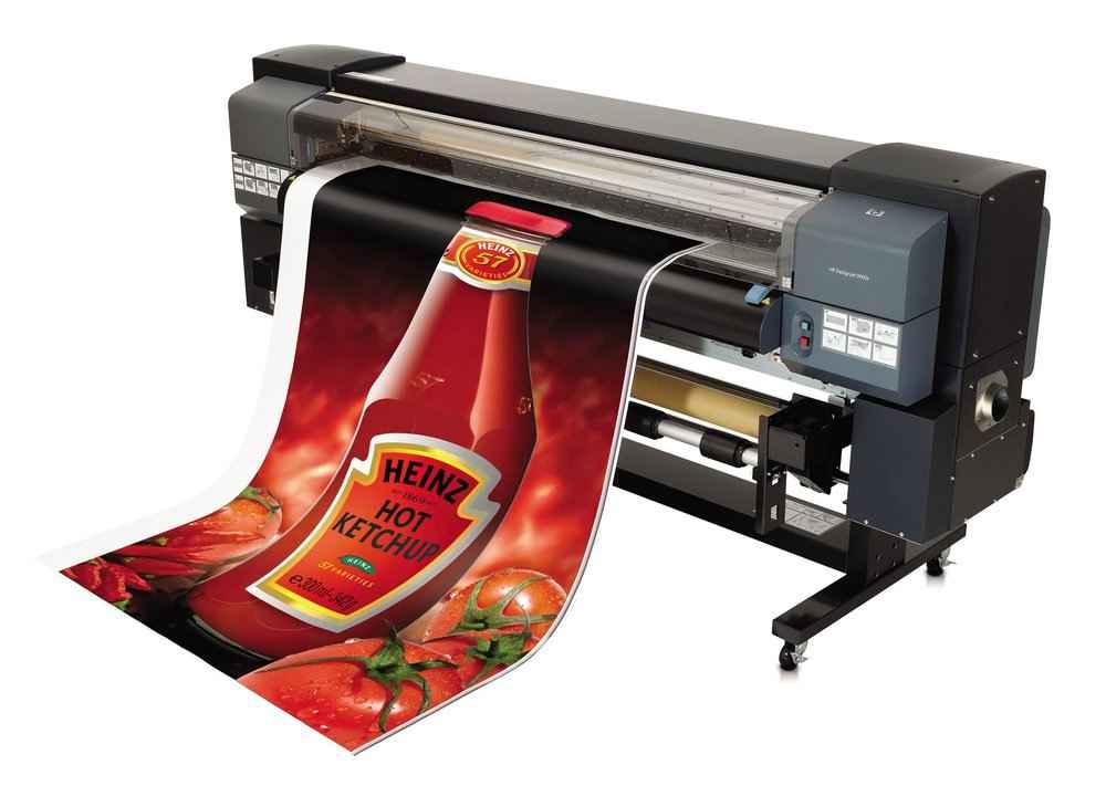 Широкоформатная печать для наружной рекламы