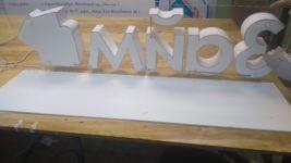 Объемные световые буквы для компании «ЦентроЗайм №1»